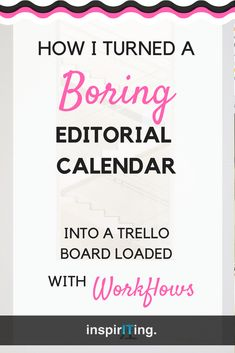 When maintaining your editorial calendar costs you precious time (and nerves), you know you are ready for some clever automations!  -- Repin this & read how I turned a standard Trello editorial calendar into awesomeness! #Trello #Editorial #Calendar #Workflows