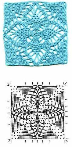 Granny Square Crochet ♥