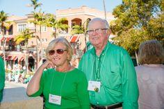 Emmanuel College Alumni St. Patrick's Event | Naples, FL | 3.15.14 - Pat Flaherty Nee'61 and John Nee