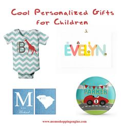 Cool personalized gifts for children #kids #gifts