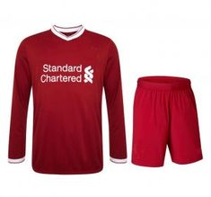 Liverpool 2017-18 Season LS Home Kit