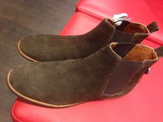 Frank Wright Chelsea Suede Boots. Going to be my January purchase