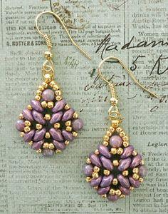 Linda's Crafty Inspirations: Bracelet of the Day: Nevada Bracelet - Lila Vega