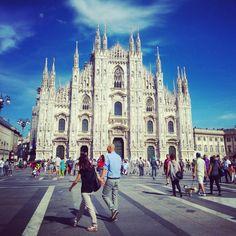 Milano in MI #italy #milano #milan #cathedral