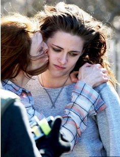 "Kristen & Julianne on the set of ""Still Alice"" on March 21, 2014"