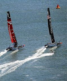 A change of tactician for Oracle couldn't change the game as Team New Zealand thrashed the America's Cup defenders twice today.
