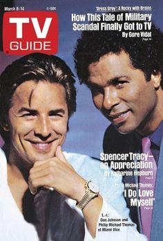 """""""Miami Vice"""" TV Guide Cover"""