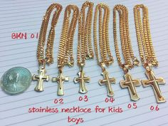 KIDS(BOYS) BANGKOK STAINLESS STEEL NECKLACE ₱275 Retailer ₱250 Reseller ✓FREE box *RS-NE1i1*  CASH-ON-DELIVERY (applies to Urdaneta, Pangasinan ONLY) ✓JAN. 16 Delivery/Meetup ✓CUT-OFF for placing of orders on JAN. 14 at 5:00 p.m.  Meet-up Points (4:00 P.M. onwards): ✓Magic Mall Urdaneta ✓CB Mall Urdaneta ✓Bagsakan Villasis ✓SM Rosales ✓UCU Main Gate ✓PUNP Main Gate  I also accept SHIPPING for those who are NOT from URDANETA, PANGASINAN. ✓PAY FIRST before I process the orders. ✓Payment…