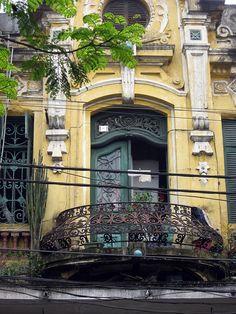Hanoi - French balcony