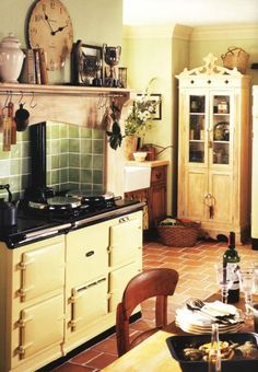 AGA Cooker, Freestanding French Armoire