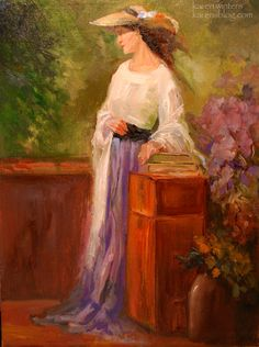 The Creative Journey » Victorian Lady - Figurative Oil Painting