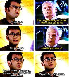 Hehe love the doctor