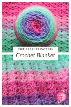 Crochet blanket pattern - free and easy! Used Lion Brand Mandala Sparkle - - Free and easy crochet blanket pattern. Looking for a project bursting with color? This Lion Brand Mandala blanket mixes bright colors & unique stitches. Crochet Mandala Pattern, Afghan Crochet Patterns, Crochet Afghans, Baby Blanket Crochet, Crochet Yarn, Stitch Patterns, Crochet Blankets, Baby Blankets, Baby Afghans