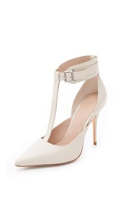 Please can I have these?! Elizabeth and James Saucy Ankle Cuff Pumps