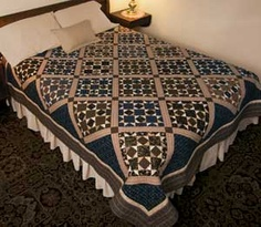 Tavern Blues Quilt...Love this quilt design! Would also be great in other colors, like red, white and blue!