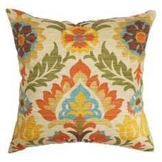 Taj Pillow - love the colors and pattern