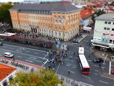 Osnabrück-City, Neumarkt mit Blick auf das Landgericht