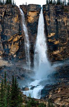 Twin Falls, Yoho National Park, Alberta, Canada.