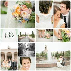 Paige + Blake Green Photography. Floral Design & Coordination by Sugar Branch Events.