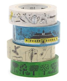 Look at this Four-Piece Sketch It Washi Tape Set on #zulily today!