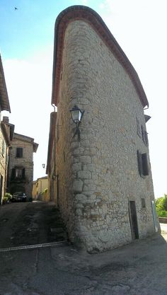 Original Tuscany building