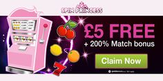 http://www.allcasinosite.com/spin-princess/ £5 free no deposit welcome bonus for UK players only  Wager deposit bonus 100 times on allowed games. Maximum winnings from this free bonus is capped at £20.  For verification of no deposit bonus rules, terms and conditions, maximum cashout, withdrawal policy, wagering requirements, restricted countries, please confirm with Spin Princess Casino