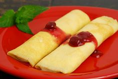 IHOP-Cheese Blintzes...the mixture is actually made w/cream cheese, sour cream, and cottage cheese. No ricotta.