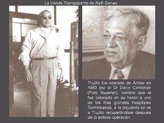 Trujillo fue intervenido de Antrax por el Dr. Darío Contreras en el año 1940, aquí está convaleciente.