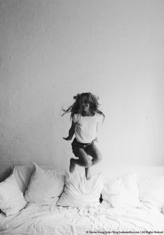 Jumping on the bed :)