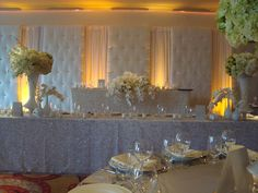 Backdrop for sweetheart table