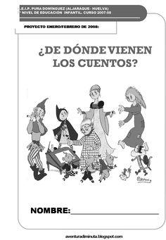 """AVENTURA DIMINUTA: PROYECTO DIDÁCTICO """"¿DE DÓNDE VIENEN LOS CUENTOS?"""" Montessori Activities, Conte, Good Books, Musicals, Writing, Education, Comics, Reading, School"""