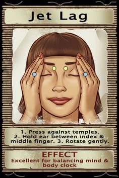 massage for jet lag Acupressure Points Chart, Acupressure Therapy, Acupressure Treatment, Alternative Therapies, Alternative Health, Yoga Facts, Mental Health Journal, Reflexology Massage, Heath And Fitness