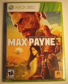 XBOX 360 Rockstar Games Max Payne 3 COMPLETE