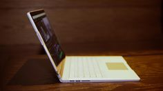 """Microsoft unveils its first 13.5-inch notebook computer, the Surface Book, which it calls the """"ultimate laptop."""""""