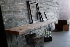 Used materials and old wood is just beatiful decoration items