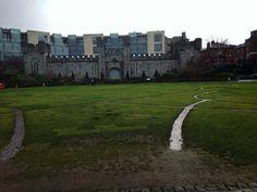 Dublin Castle em Dublin, Dublin City #dublin #castle #irland #castelo #dublincastle #ireland #irlanda #paisagem
