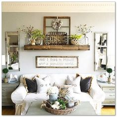 Farmhouse Decorating Style 140 Ideas For Living Room And Kitchen 127 - Home & Decor