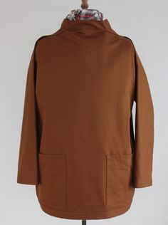 Picture of Hand Made Fishermans Smock S Navy or Sand