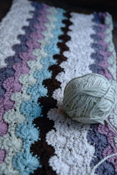 Crochet Double Stitch Blanket - Free Pattern
