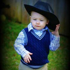 My lil cowboy