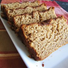 Brown Sugar Banana Bread - - Brown sugar and cinnamon add depth to this moist, sweet bread. The perfect present for friends and loved ones! Brown Sugar Banana Bread, Best Banana Bread, Banana Bread Recipes, Banana Bread Bars, Brownie Recipes, Banana Bread Ingredients, Dessert Bread, Fruit Bread, Deserts