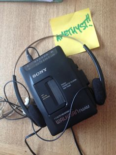 Sony Walkman - old school!