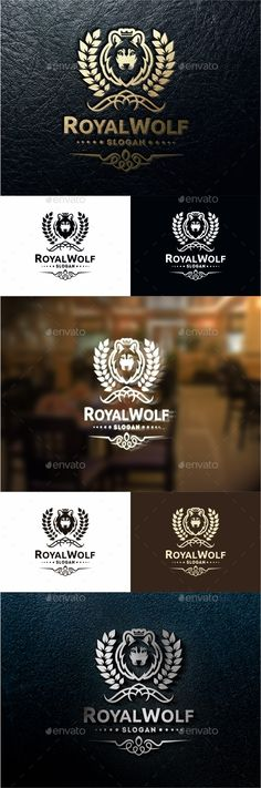 Royal Wolf Logo Template #design #logotype Download: http://graphicriver.net/item/royal-wolf/12061288?ref=ksioks