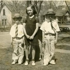 My mom and her gangster brothers. (I wonder why they are all dressed up)! L to R: Rodney Patsy and Gary Stone