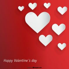 Valentine's Day Cutout Heart Design