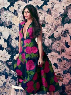 Jacqueline Fernandez on Harper Bazaar India April 2015