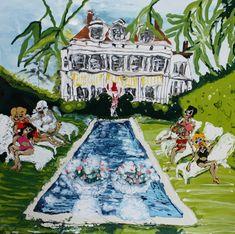Mary Ronayne, Weekend Break, South Carolina, 2021 | HOFA Gallery (House of Fine Art)