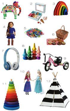 Kid's Gift Guide 2013  |  Kiki's List