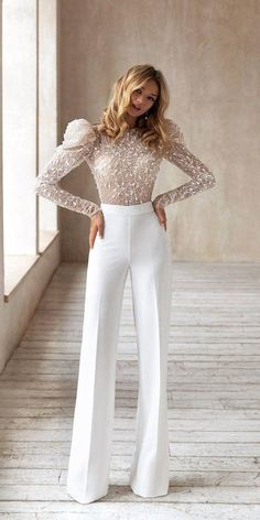 Prom Jumpsuit, Wedding Jumpsuit, Classy Outfits, Beautiful Outfits, Trendy Outfits, Elegante Jumpsuits, Dream Wedding Dresses, Prom Dresses, Wedding Outfit Guest