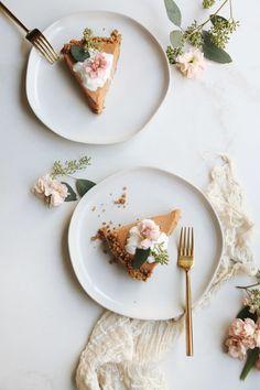 no-bake pumpkin pie with gingersnap crust recipe